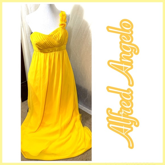 Alfred Angelo Dresses & Skirts - Nwt Alfred Angelo Formal Gown Size 12 Chiffon
